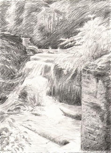 landscape reference  waterfall drawing art