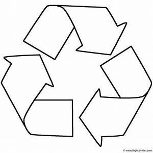 recycle coloring page earth day With how to recycle