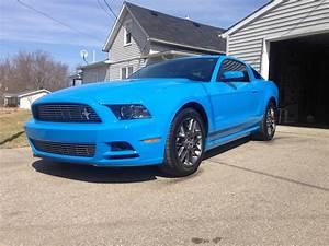 For Sale: 2014 Grabber Blue V6 Premium Mustang - Mustang Evolution