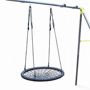 Balançoire Nid D Oiseau : balan oire nid d 39 oiseau 92cm pour portique de 2 2 2m ~ Melissatoandfro.com Idées de Décoration