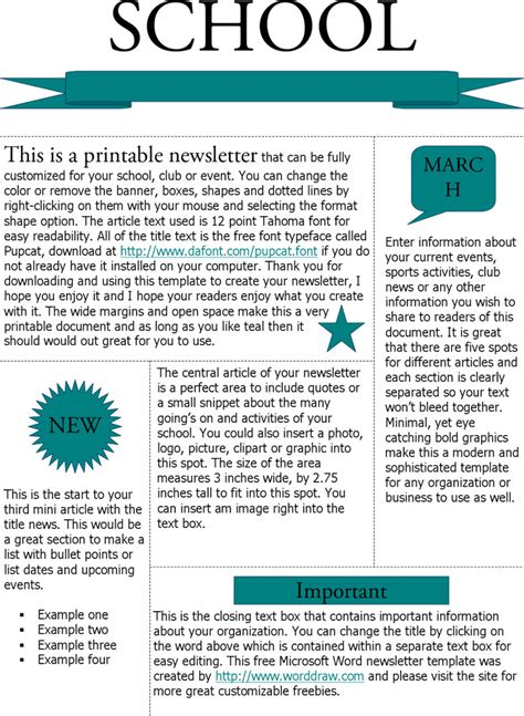 microsoft newsletter free newsletter templates for microsoft word hunecompany