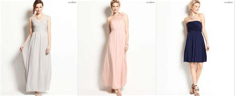 Perfect Bridesmaids Dresses From The 2014 Ann Taylor