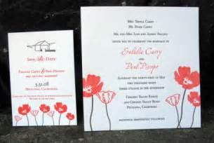 invitation for wedding green wedding guide invitations inhabitat green design innovation architecture green