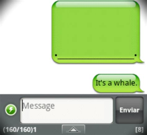 Iphone Text Memes - handcent sms for android whale iphone whale know your meme