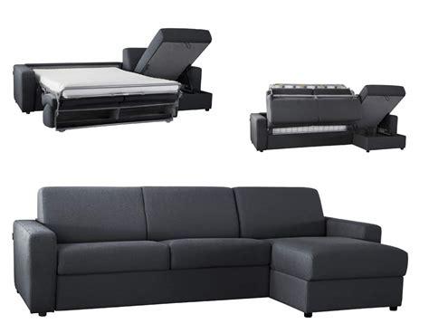 retapisser un canapé d angle canapé lit d 39 angle réversible microfibre ouverture