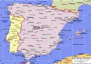Spain Gibraltar Portugal Map