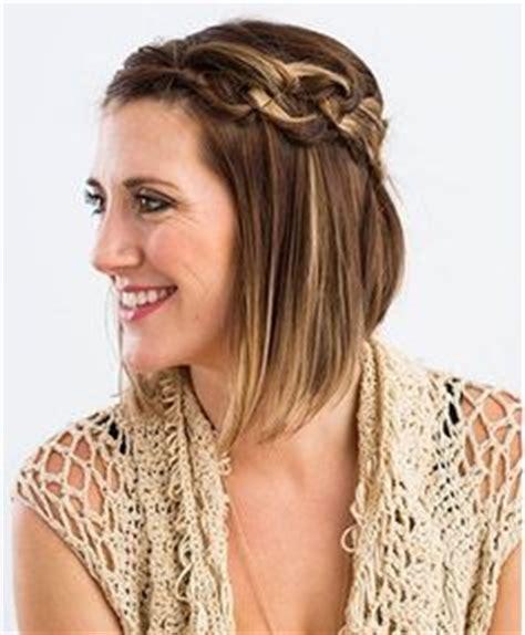Haare flechten kurze haare