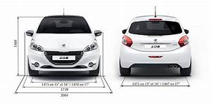 Dimension 2008 Peugeot : informations techniques de la peugeot 208 5 portes ~ Maxctalentgroup.com Avis de Voitures