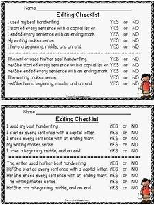 Fun In First Grade  Writing Checklists