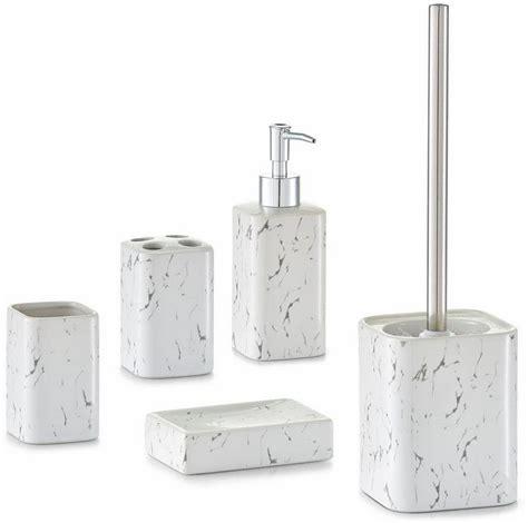 home affaire bad accessoires set 187 marmor 171 5 tlg otto