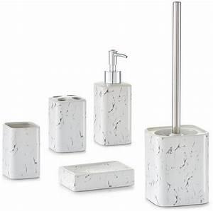 Bad Accessoires Set Schwarz : home affaire bad accessoires set marmor 5 tlg otto ~ Bigdaddyawards.com Haus und Dekorationen