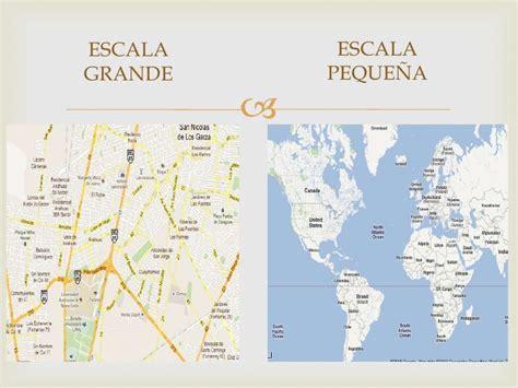 de geograf 237 a que las escalas geogrficas