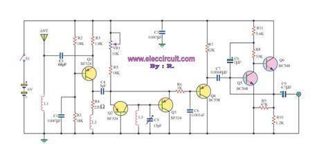 Simple Receiver Circuits Eleccircuit