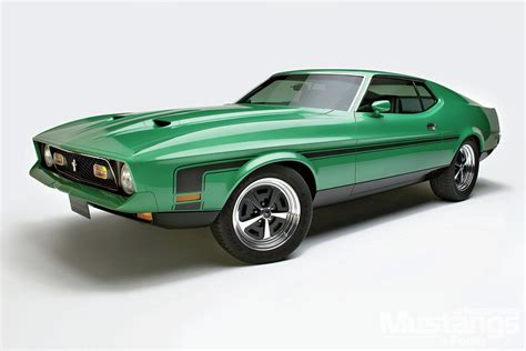 1971 Ford Mustang Mach 1 A Different Kind Of Stock Photo