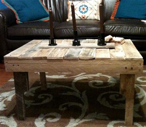 diy ultra rustic pallet coffee table pallet furniture plans