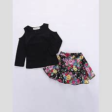 Baby Girls' Casual Daily  Going Out Floral Print Long Sleeve Regular Regular Cotton Clothing
