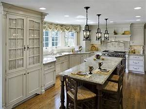 painting kitchen countertops pictures ideas from hgtv With kitchen cabinets lowes with french cafe canvas wall art