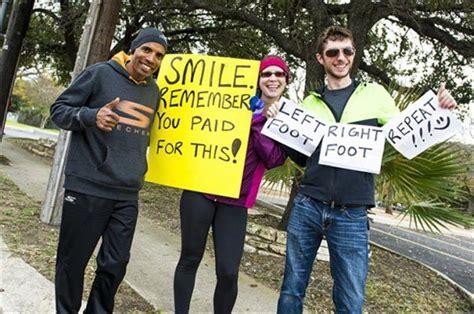funny marathon signs    running worth
