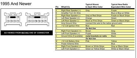 radio hook     speacker wire color codes