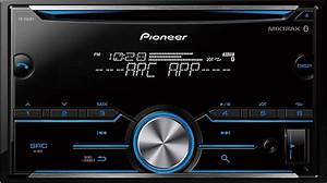 Pioneer Bluetooth In-dash Cd Receiver Black Fh-s501bt