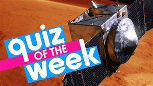 Try the Newsround news quiz about this week's headlines ...