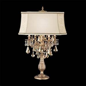 Table Lamp. Traditional Style Table Lamps: Schonbek Table ...