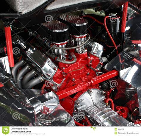 Luxury Car Engine Detail Stock Photo Image Of Business