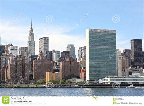 le siege des nations unis siège des nations unies nyc photo stock éditorial image