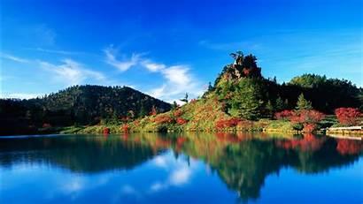 Japan Autumn Reflection 1366 768 Wallpapers 1080