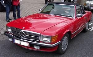 Mercedes 560 Sl : file mercedes benz 560 sl red wikimedia commons ~ Melissatoandfro.com Idées de Décoration