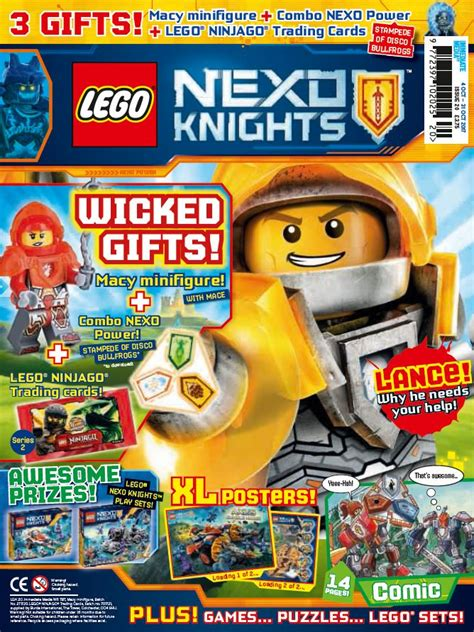 lego nexo knights issue  buy  issues single copies