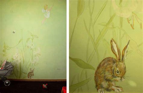 Kinderzimmer Wandgestaltung Wald by Wandlungen Portfolio Gruen