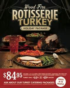 cowboy chicken offers wood rotisserie turkeys for the holidays food news net