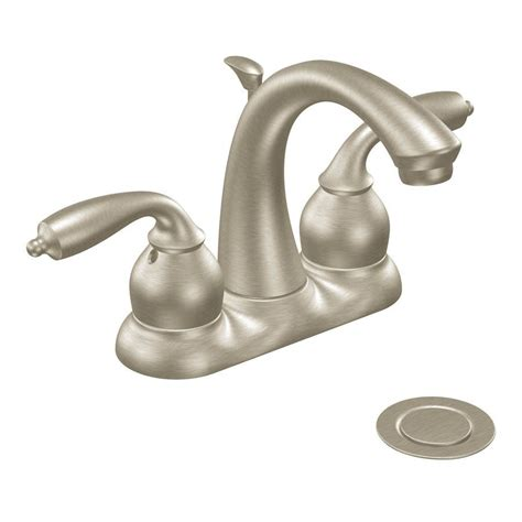 moen bathroom sink faucets moen bayhill centerset watersense bathroom sink faucet
