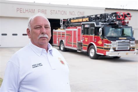 valley fireplace pelham pelham chief danny retiring shelby county