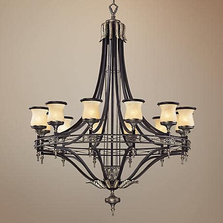 wide chandelier georgian court collection 48 quot wide large chandelier