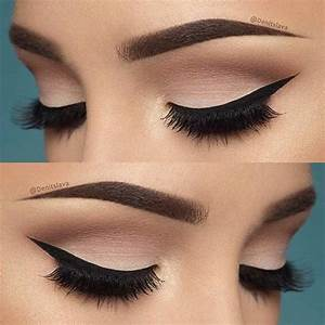 19 Easy Everyday Makeup Looks   Neutral eyeshadow, Winged ...