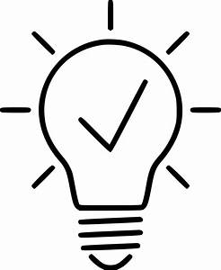 Creative Idea Light Bulb Innovation Svg Png Icon Free ...