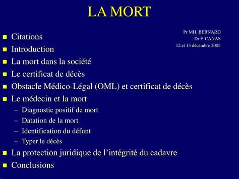 ppt la mort powerpoint presentation id 689001