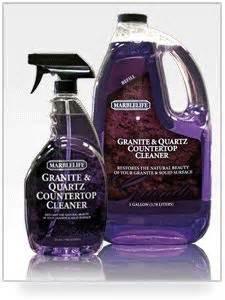 how to clean granite countertops on granite