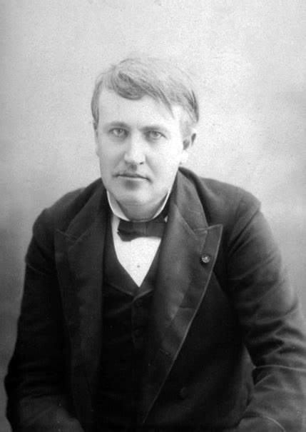 Filethomas Edison Cabinet Card By Victor Daireaux, C1880s