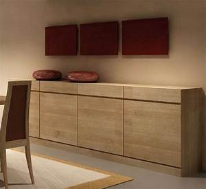 salle a manger contemporaine bali chene massif meubles With meuble de salle a manger avec mobilier salle À manger contemporain