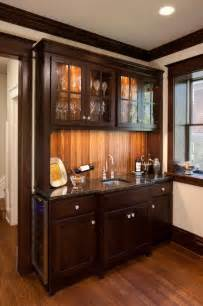 kitchen bar cabinet ideas cbell craftsman bar cabinet traditional kitchen kansas city by rothers design build