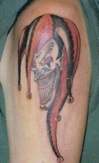 tattoos joker clown tattoos