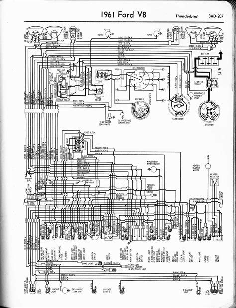 1960 Thunderbird Wiring Schematic by 1957 1965 Thunderbird Wiring Diagrams