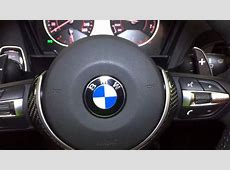 BMW MPerformance MSport Steering Wheel with OLED Racing