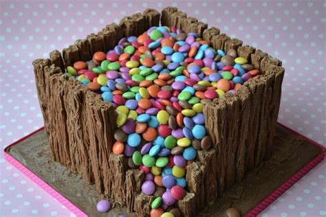 smartie waterfall cakes cake decorating daily inspiration ideas creative