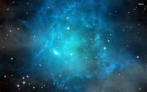 Blue nebula wallpaper - Space wallpapers - #22541