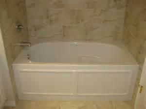 Alcove Bathtub with Tile