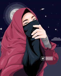 vector hijab niqab niqabis   pinterest niqab hijab niqab  hijab cartoon